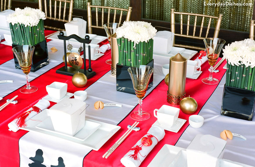 Chinese new year party idea - Chinese dinner party ideas ...