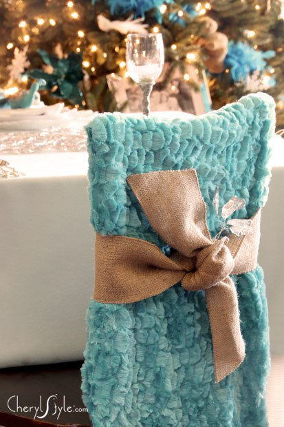 No Sew DIY Chair Covers