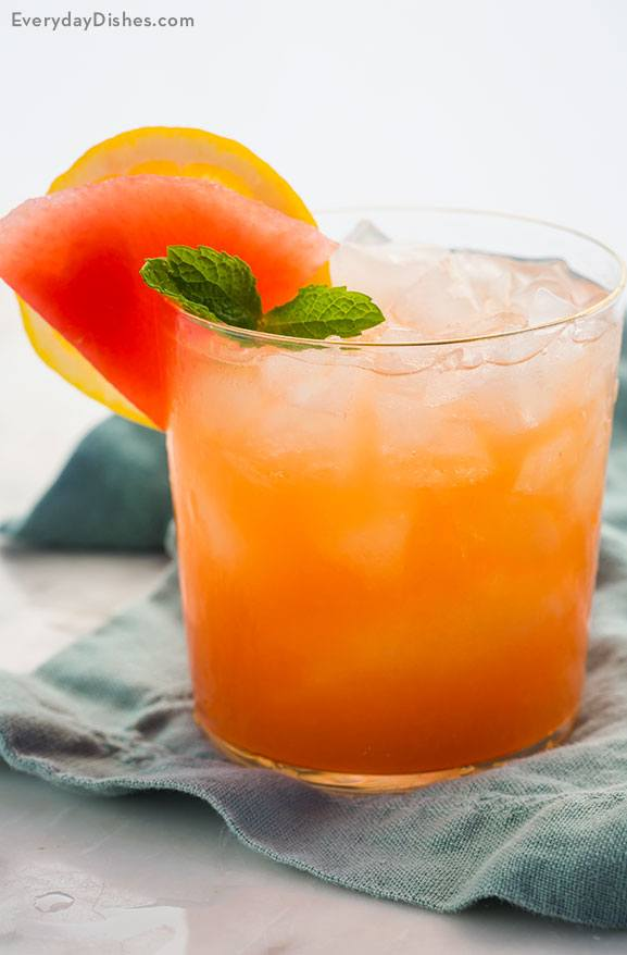 Mango Lemon Watermelon Cocktail Recipe