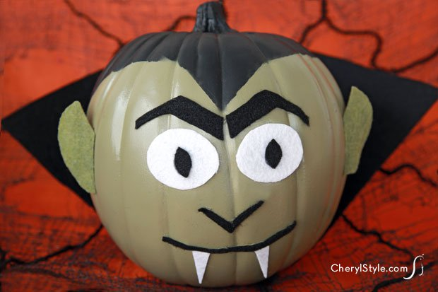 DIY Monster Pumpkins Craft Everyday Dishes amp