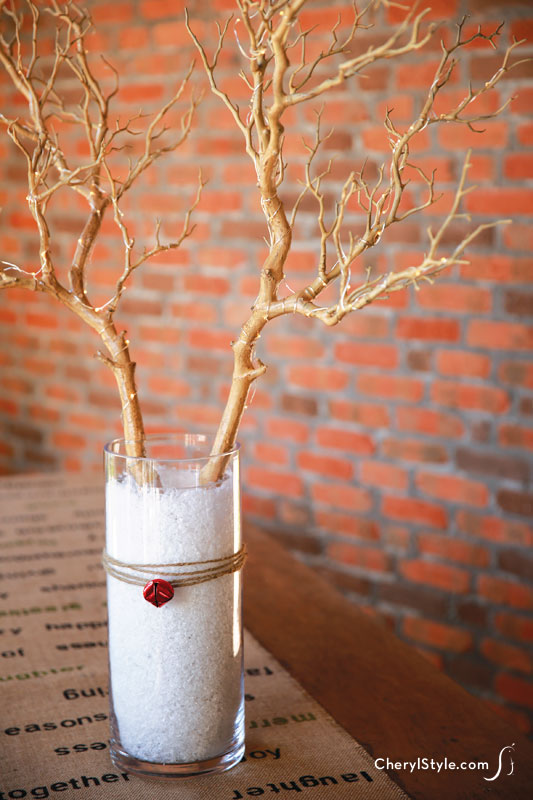 Diy Reindeer Centerpiece Everyday Dishes