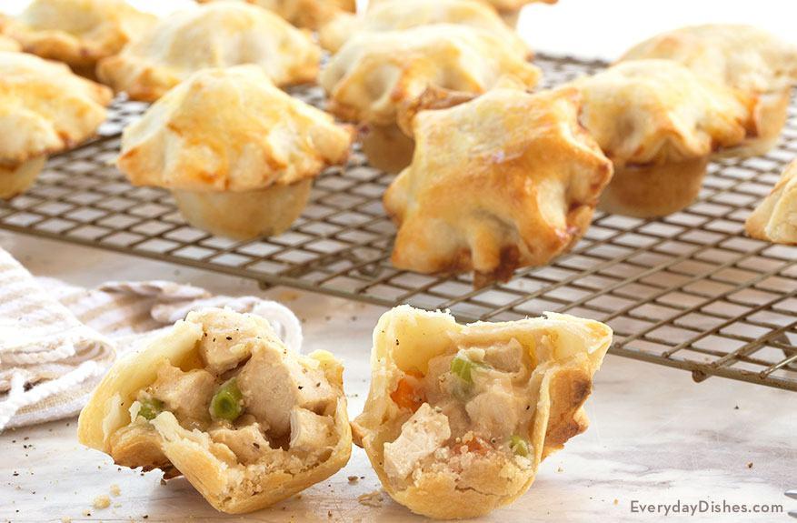 Mini Chicken Pot Pies Recipe