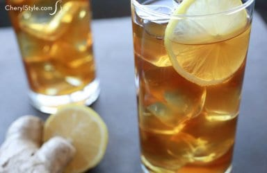 Honey Ginger Iced Tea