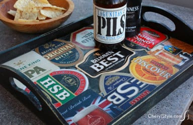 Beer Coaster Tray