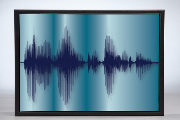 Mother's Day gift idea: Custom voice artwork from Voice Art Gallery