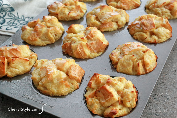 Baked French toast muffins make a great breakfast on the go!