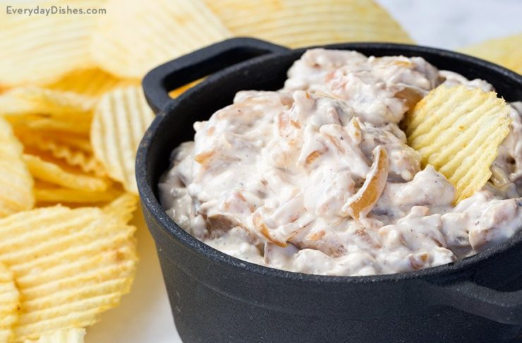 Real onions make this French onion dip recipe tastier than ever!