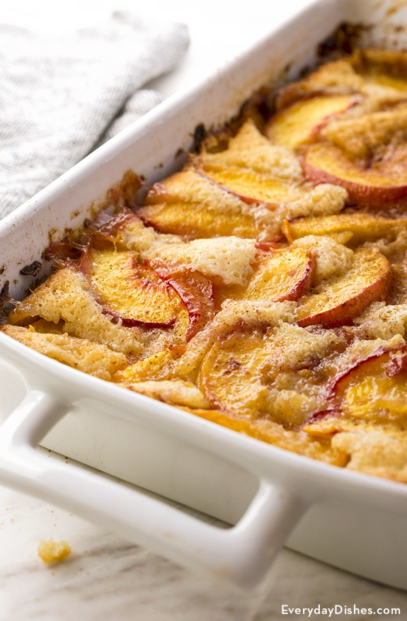 Old-Fashioned Peach Cobbler Recipe