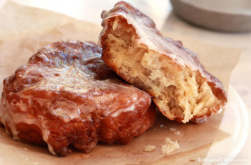Homemade apple fritters recipe