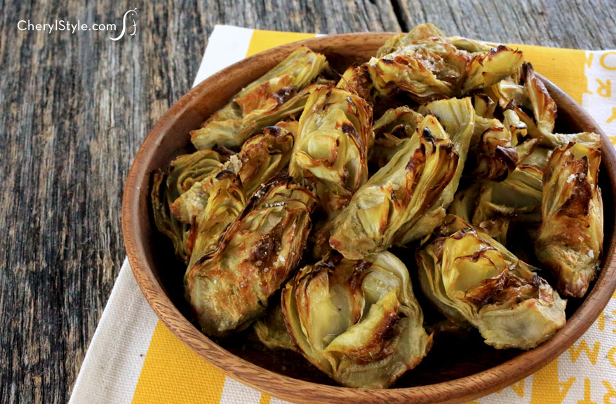 ... roasted artichoke hearts or canned artichoke hearts or canned
