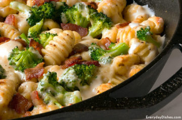 Baked Gnocchi Casserole with Bacon
