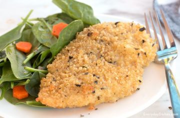Baked Quinoa-Crusted Chicken