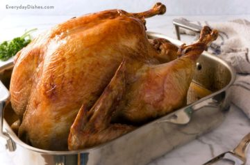 Roasting a Thanksgiving Turkey