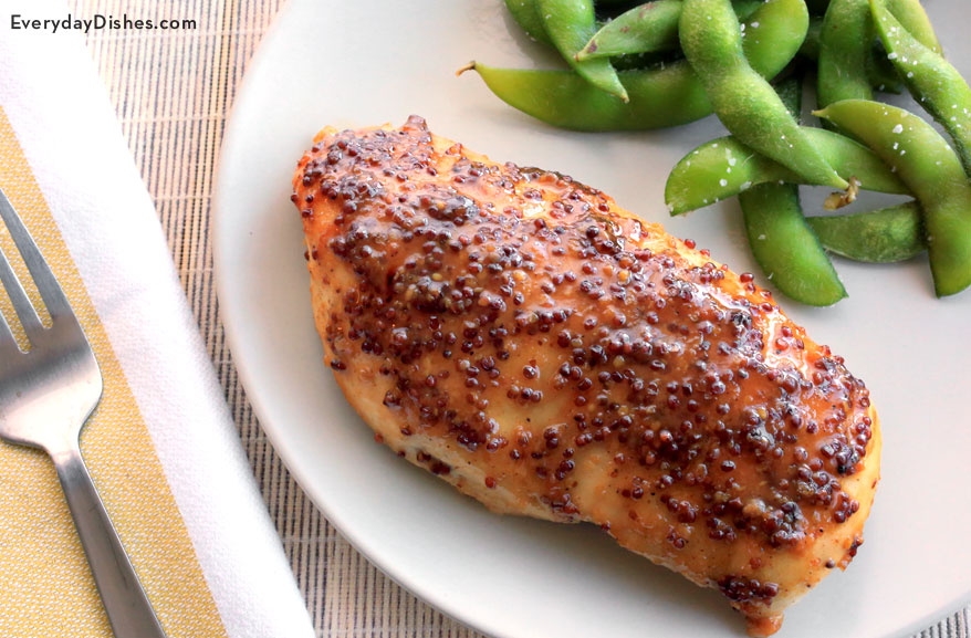 Baked Honey Mustard Chicken Recipe