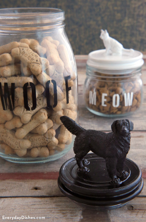 Treat jar for pets