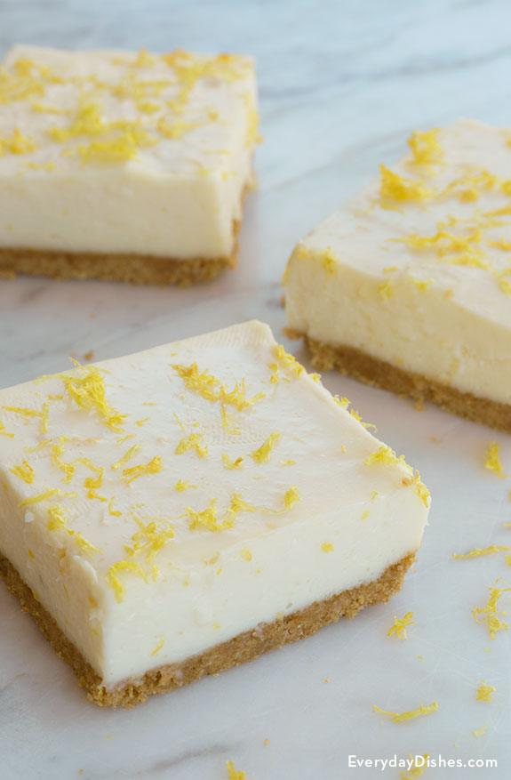 No-Bake Lemon Bars Recipe