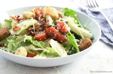 BLT Caesar Salad Recipe Video
