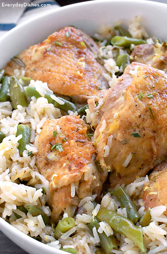 Pot lemon chicken and rice recipe one pot lemon chicken and rice recipe forumfinder Gallery