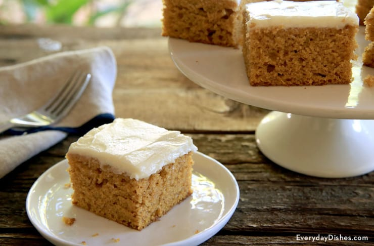 Pumpkin bars recipe