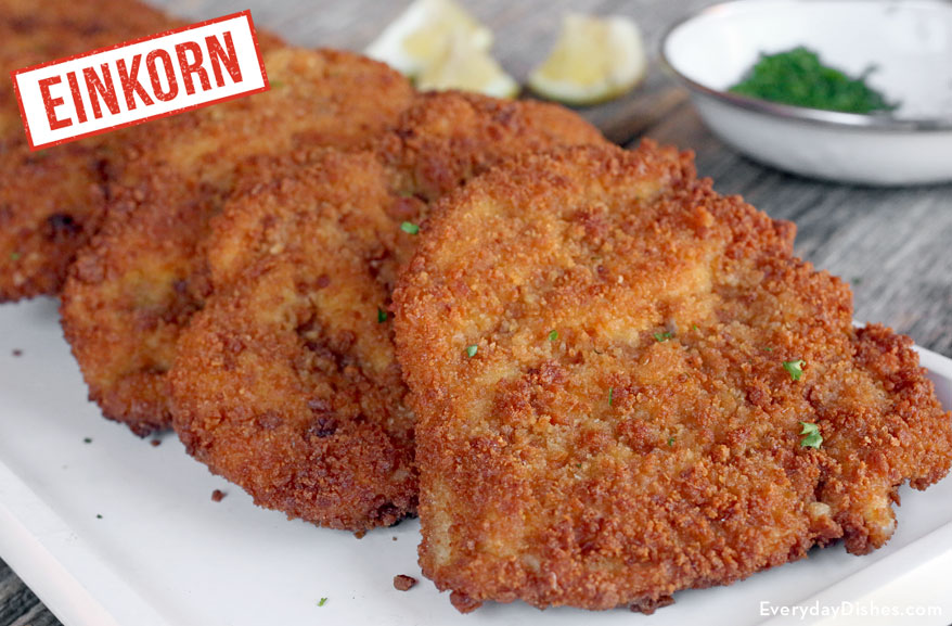 Quick And Easy Einkorn Breaded Chicken Cutlets Recipe