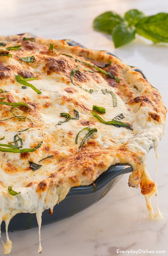 Mozzarella potato pie recipe