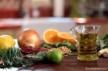 How to infuse olive oil recipe video