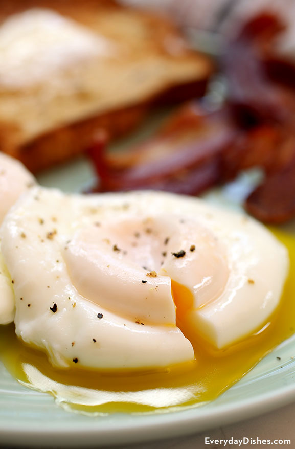 How to poach eggs recipe