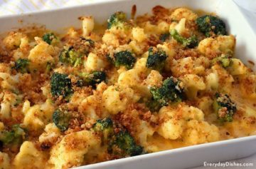 Cauliflower and Broccoli Casserole Video