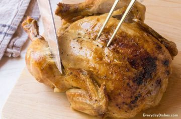 How to Cut a Roasted Chicken Video