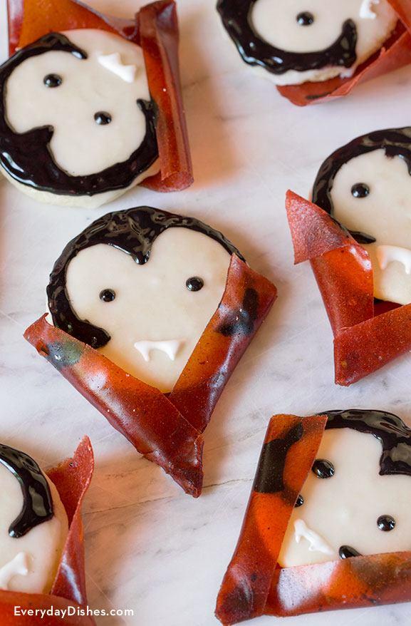 Vampire Cookies for Halloween