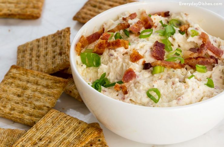 Bacon White Cheddar DIp
