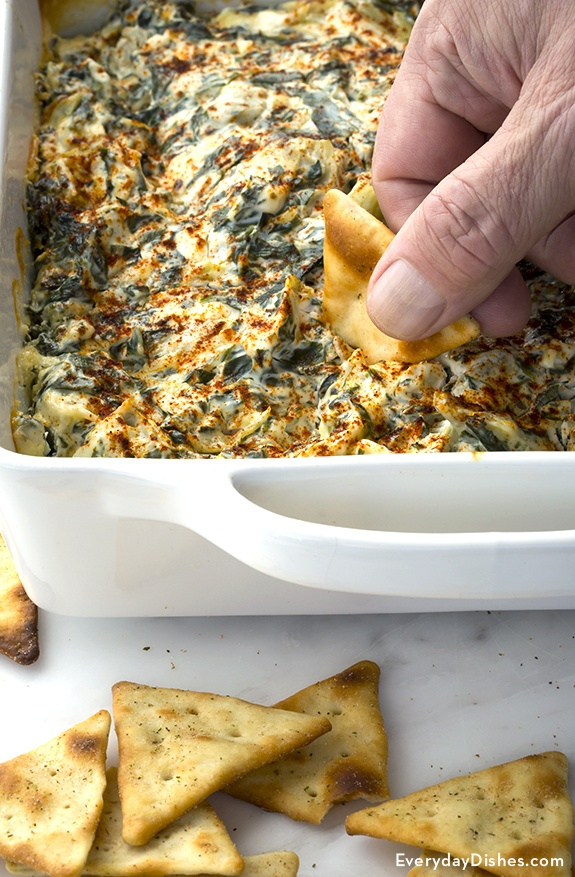 Simple spinach artichoke dip recipe