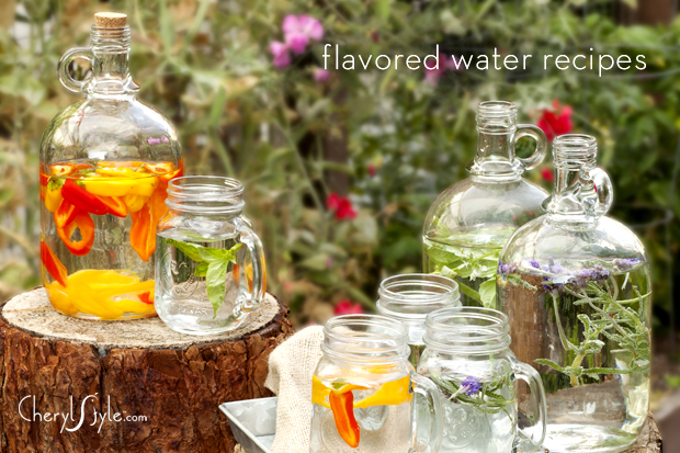 flavored-water-recipes-cherylstyle