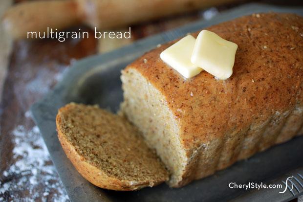 Multigrain bread recipe