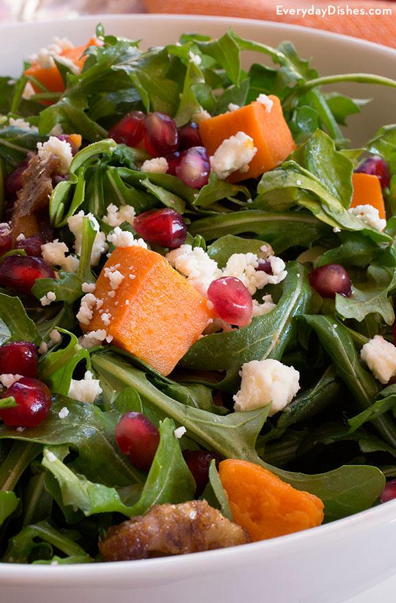 Arugula salad with citrus dressing recipe