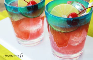 Refreshing cherry limeade recipe – the perfect kids' drink