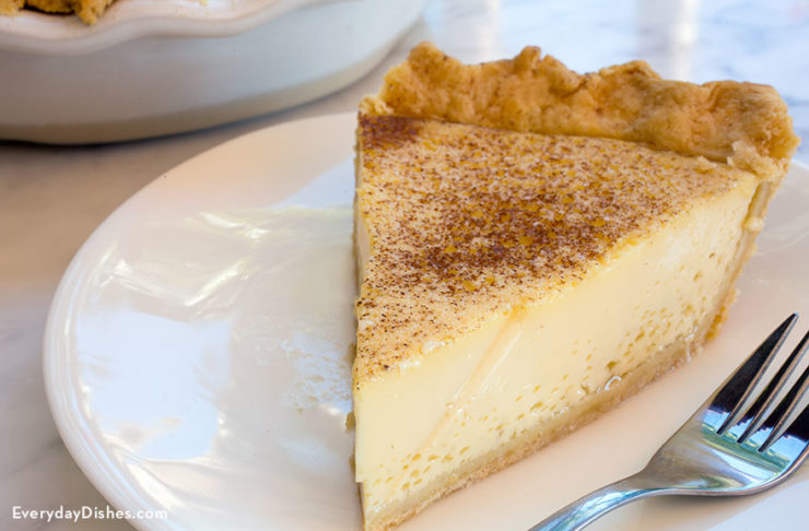 Classic custard pie recipe