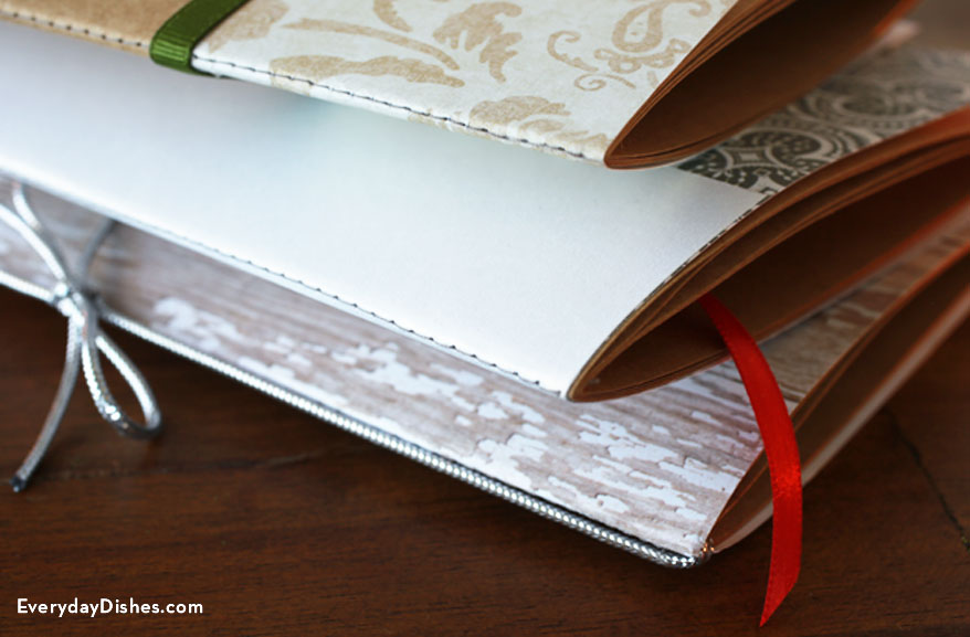 Handmade journals craft