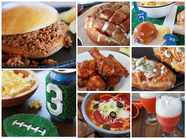 Get ready for the big game with 8 killer Super Bowl recipes, cocktails and DIYs!