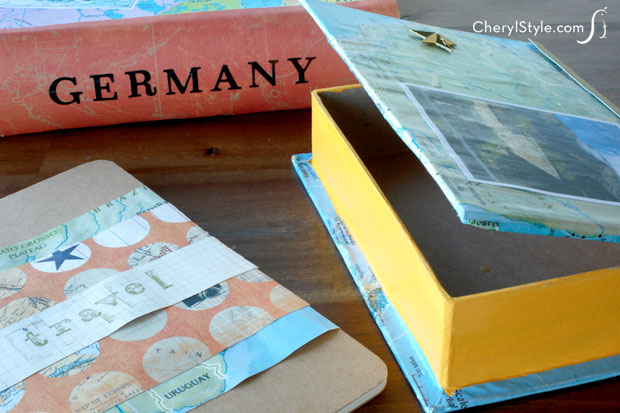 Travel keepsake box craft—capture your memories with this simple DIY