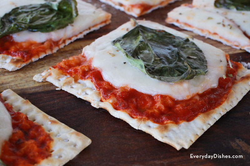 easy matzah pizza is kosher for passover but great all year long