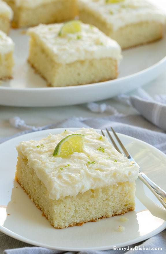 Tequilla Lime Margarita Cake Recipe