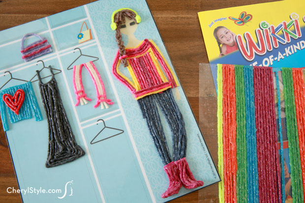 Make a scene with Wikki Stix! Keep the kids happy, busy and mess-free!