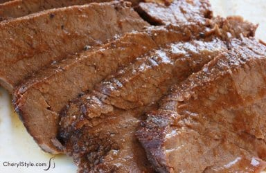 Make beef brisket for Hanukkah dinner