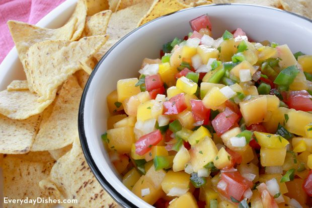Easy peach salsa recipe