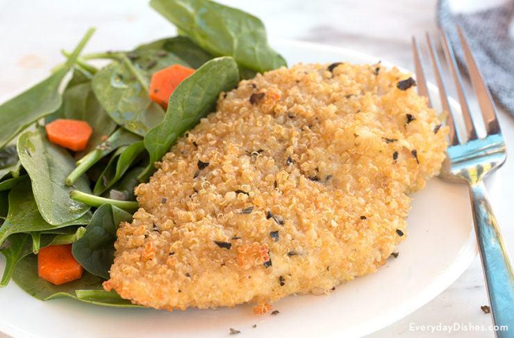 Baked Quinoa-Crusted Chicken Recipe