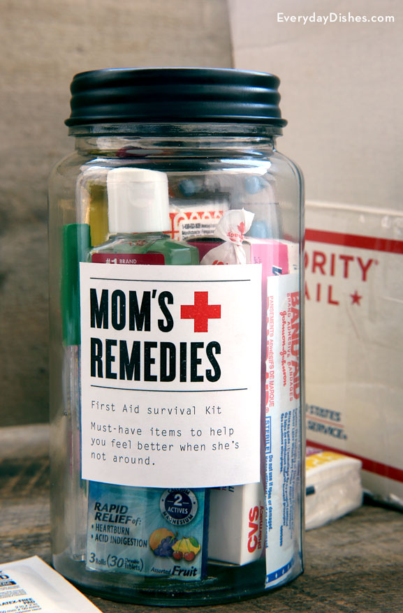 Mom's Remedies: College survival kit