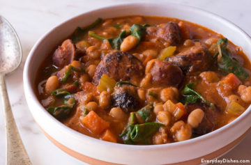 Chicken Sausage and White Bean Soup Video