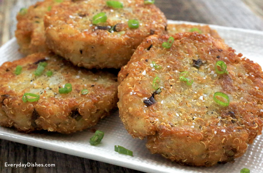 how to make salmon patties with mashed potatoes