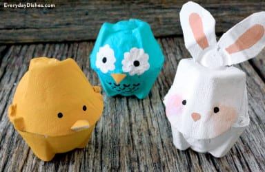 Egg Carton Animals
